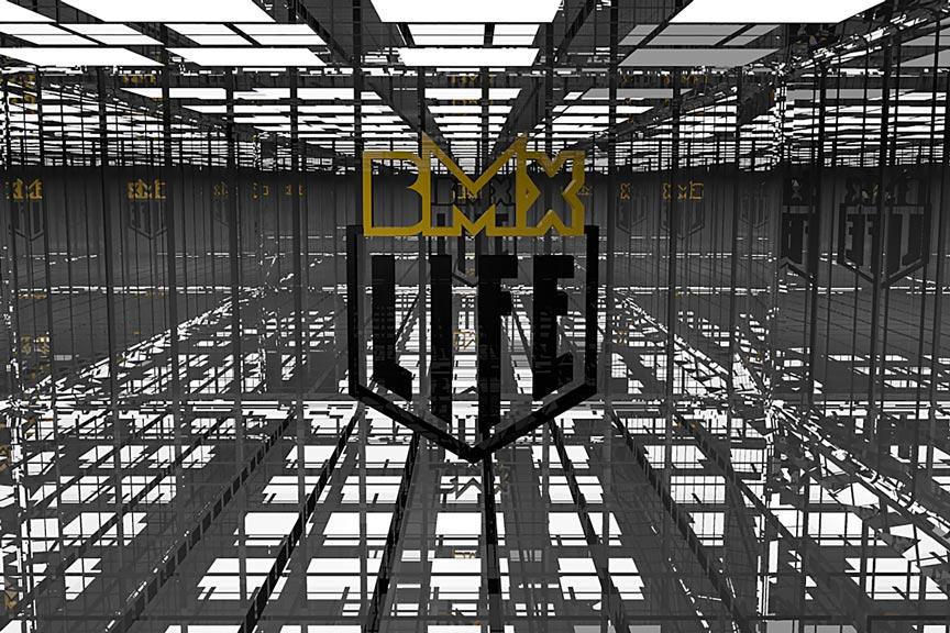 BMX LIFE - animacja logotypu
